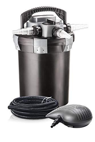 Heissner Druckfilter-Set mit Pumpe P4100 und UVC