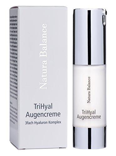 Augencreme TriHyal 3-fach Hyaluron Komplex Konzentrat Hyaluronsäure 15ml Anti Falten Aging vegan