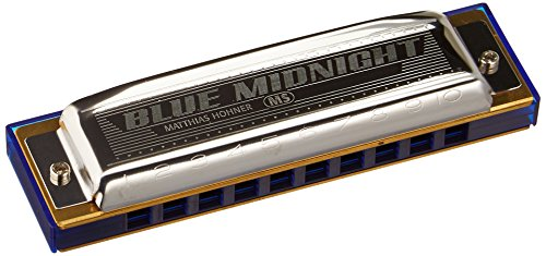Hohner 595BX-F Modular System Blue Midnight Diatonic Harmonica, Key of F