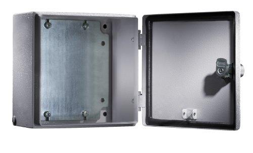 RITTAL Elektro Box EB Wandmodell pulverbeschichtet an der Aussenseite RAL 7035 300x300x120mm