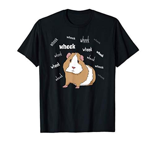 Zuhause ist wo meine Meerschweinchen sind Guinea Pig T-Shirt