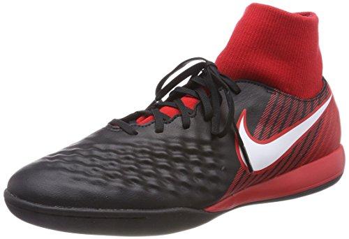 Nike Magista X Onda II DF IC 917795, Scarpe da Calcio Uomo, Nero Schwarz Weiß Universität Rot 061, 44 EU
