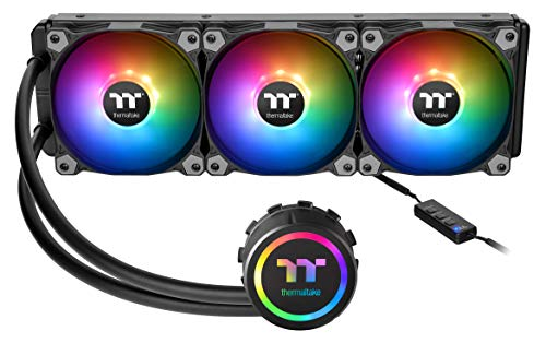Thermaltake Water 3.0 ARGB Motherboard Sync Edition Intel/AMD 360 All-in-One Liquid Cooling...