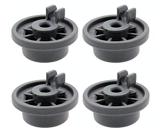12004485 Dishwasher Lower Rack Wheel Replacement, Fit for Bosch and Kenmore Dishwasher (Pack of - 4)