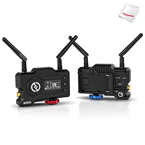 Hollyland Mars 400S Pro [Official Dealer] 1080p HDMI&SDI Transmission System 5G Wireless Video & Audio Transmission 400ft 0.06s Latency Direct Video for Live Stream (Transmitter+Receiver)