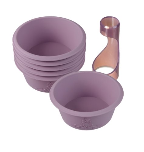 Lurch 85073 FlexiForm Cup Cake Set 7-teilig Beere