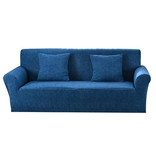 Fiaoen Funda elástica para sofá con patrón de cruz, universal, elástica, seccional, para muebles, sillones, decoración del hogar, protector de perro normal