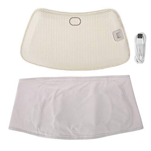 Instrumento de cuidado de la cintura portátil, tratamiento de calor LED azul para el cuidado del dolor de la cintura, equipo de belleza para el coche, la oficina o el hogar.