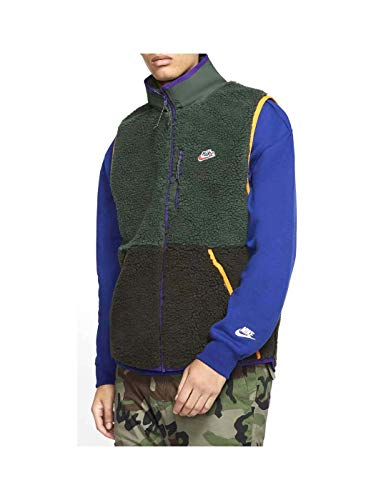Nike Sportswear Men's Sherpa Fleece Vest CD3142-337 Size XL