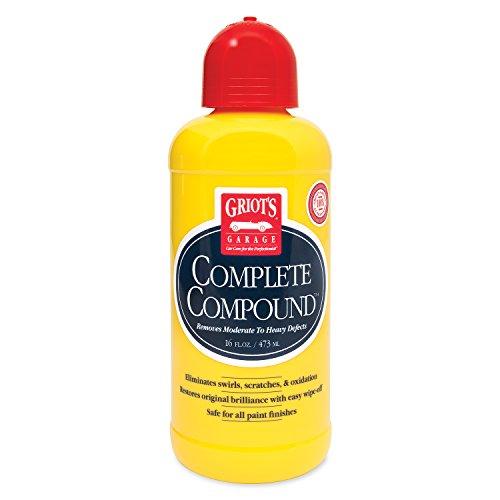 Griot's Garage 10862 Complete Compound 16oz