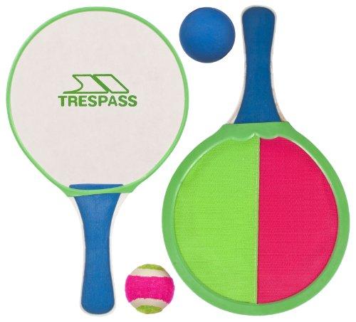 Trespass Prodigy Bate de Pala y Bola, Hombre, Multicolor