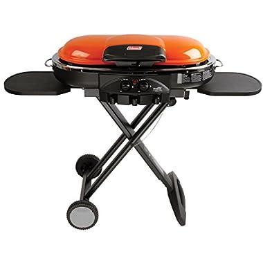 Coleman RoadTrip LXE Portable Propane Grill, Orange