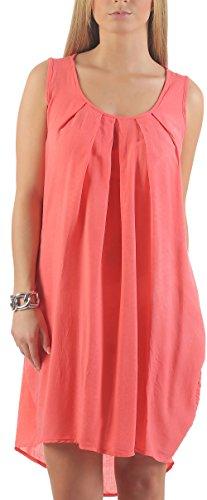 malito dames Zomerjurk knie lang | elegante jurk voor aan het strand | Klassieke vrijetijdsjurk | Partyjurk 1120