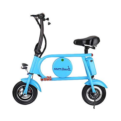 Hold E-Bikes Elektroräder Männer 400 watt Falten Elektroräder Für Erwachsene 36 v E Fahrrad Für Erwachsene Frauen Ebike Scheibenbremsen Elektroräder Blau
