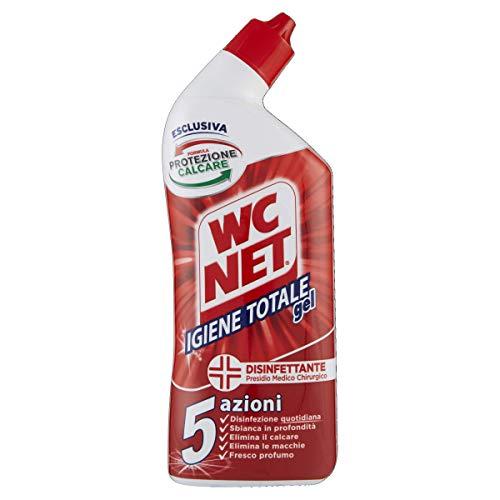 Wc Net Igiene Totale Gel per Sanitari e Superfici, Pulitore Liquido per Wc, 700 ml