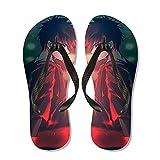 JINGXINA Jujutsu Kaisen Sandalias de Dedo de Anime/Zapatillas de Fan de Anime y Otaku/Chanclas de Anime/Zapatos de Ducha para Piscinas/Zapatos Antideslizantes/Zapatillas de Hombre y Mujer