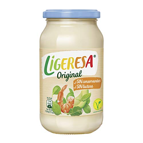 Ligeresa Mayonesa Original Tarro 450 ml