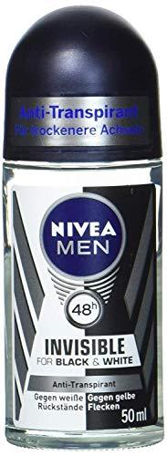 Nivea roll-on deodorant 50ml For Men Black & White
