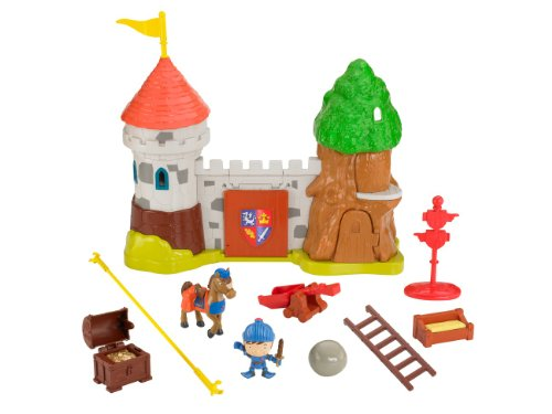 Mattel Fisher-Price BDN31 - Mike der Ritter Schloss Glendragon