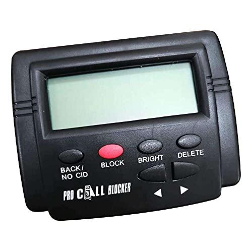 zhaita Bloqueador de llamadas para llamadas de teléfono fijo 1500 capacidad