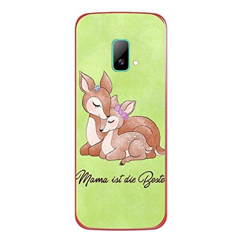 DISAGU SF-sdi-4195_1003 Design Folie für Wiko riff Rückseite - Motiv Mama ist die Beste - grün