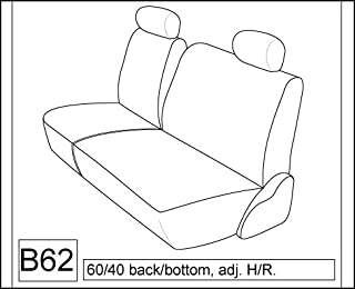 Durafit Seat Covers 1995-2000 Chevy Truck Exact Seat Covers Front Low Back 60/40 Bench with Adjustable Headrests. No Armrest Or Console. Manual Seat Controls