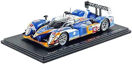 Spark–43se11–Peugeot 908HDI FAP Oreca–Winner Sebring 2011–Escala 1/43–Azul/Naranja/Cromo