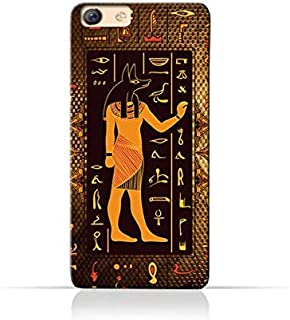 Oppo F3 Plus TPU Silicone Case with Egyptian Hieroglyphs Pattern