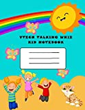 vtech talking whiz kid notebook: 8.5×11in (21.59×27.94 cm) 40 rulled...