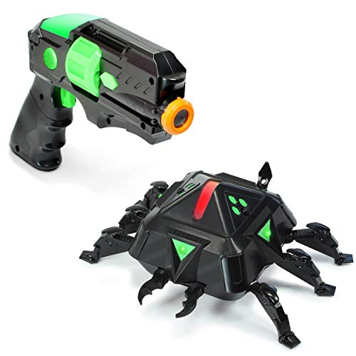 ArmoGear Laser Tag Shooting Game | Kids Laser Tag Gun with Spider Set | Indoor and Outdoor Target Shooting Toy | Ideal Electronic Gift for Boys Ages 8+