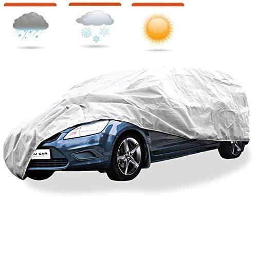 XTRM-CAR Autoschutzdecke Autoplane Autoabdeckung Ganzgarage passt für Peugeot 107 - Premium M