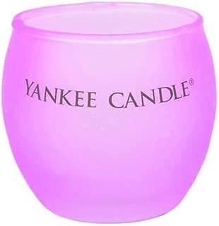 7.5x7.3x7.3 cm Cer/ámica YANKEE CANDLE Vaso para Vela Votiva Pastel Lila