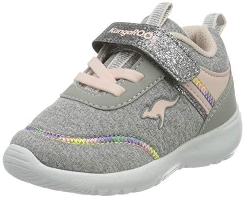 KangaROOS Unisex-Kinder KY-Chummy EV Sneaker, Vapor Grey/Frost Pink 2063, 23 EU