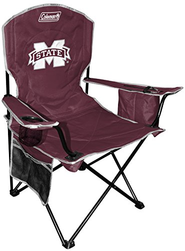 NCAA Mississippi State Bulldogs Unisex NCAA Cooler Quad Chairncaa Cooler Quad Chair (All Team Options), Red, X-Large