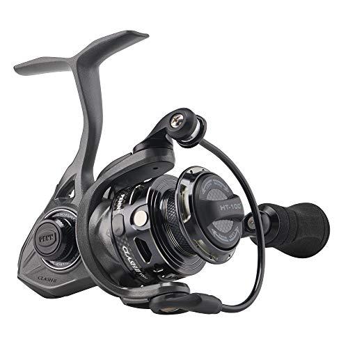 PENN Clash II Spinning Fishing Reel Grey/Black, 1000