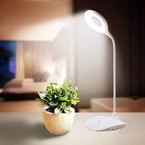 Smart One Rocklight Plastic Table Lamp, White, Pack of 1