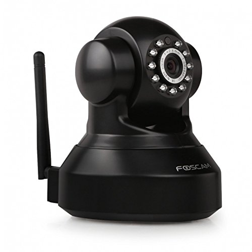 Foscam FI9816P Cámara IP vigilancia, 1MP,WIFI, seguridad, slot MicroSD, negro