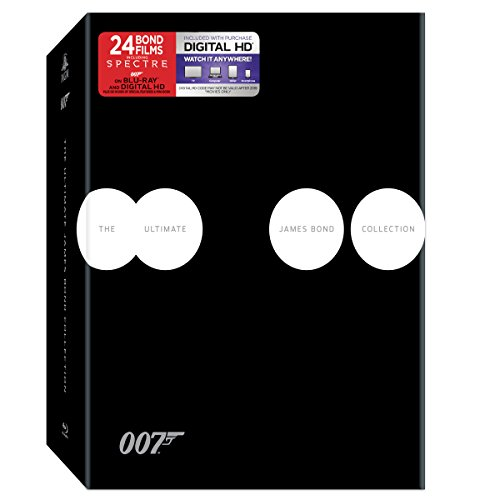 The Ultimate James Bond Collection [Blu-ray]