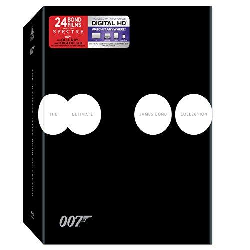 Ultimate James Bond Collection (24 Blu-Ray) [Edizione: Stati Uniti]