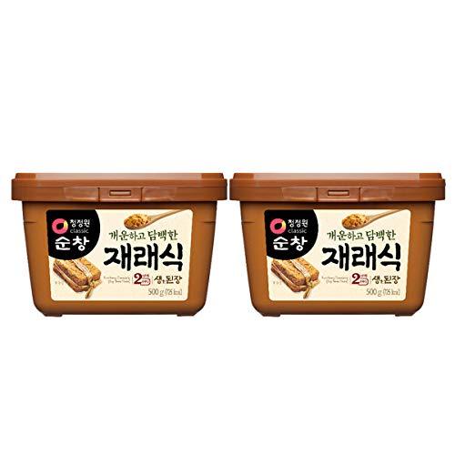 【 テンジャン 500g ( 合計 1kg ) セット 】テンジャン 味噌 韓国 韓国調味料 韓国食品 業務用 調味料 伝統製法