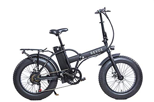 Revoe 553503 Dirt Vtc Bicicletta Elettrica Pieghevole 20', Nero