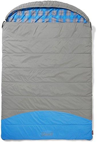 Coleman Schlafsack Basalt Double, XXL Deckenschlafsack Camping, warmer extralanger Herbst/Winterschlafsack, Outdoor und Indoor nutzbar, 225 x 150 cm, Komforttemperatur -5°C