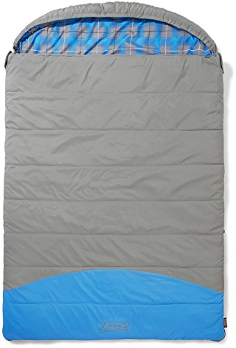 Coleman Sleeping Bag Basalt Double, Rectangular Double Sleeping Bag, Indoor...
