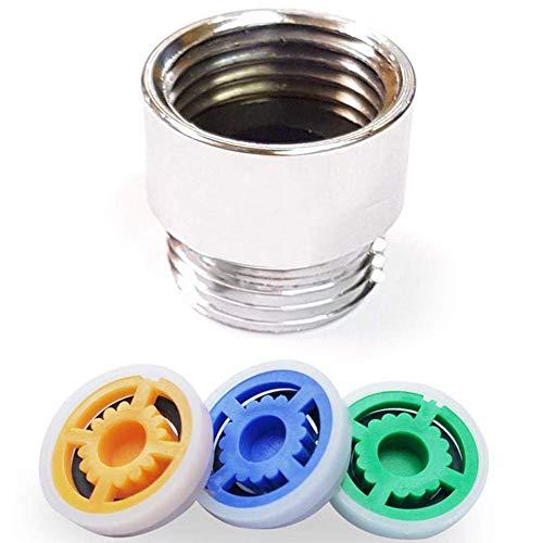 i-Found Limitador reductor de flujo, ahorro de agua para ducha, ahorra hasta un 70% de ahorro de agua para cocina/baño/inodoro (paquete de 4)