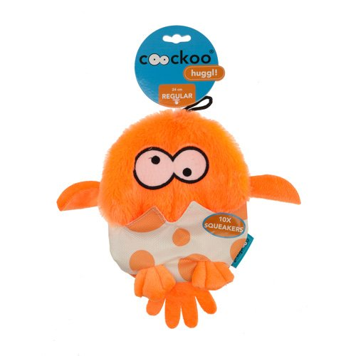 COOCKOO Hundespielzeug Huggl, orange