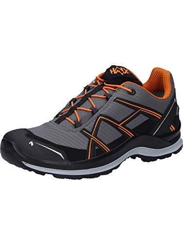 Haix Black Eagle Adventure 2.1 Low Gore-Tex, Schuhgröße:44 (UK 9.5), Farbe:grau/orange