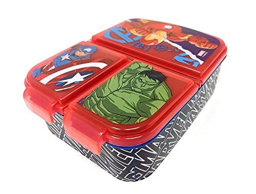 Fiambrera para niños / fiambrera / fiambrera a elegir: Frozen PJ Masks Spiderman Avengers - Mickey - Paw de plástico sin...