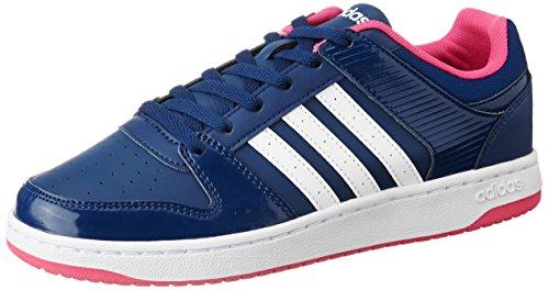 adidas VS Hoopster W Damen Sportschuhe, Blau–(azumis/Ftwbla/Rosimp) 362/3