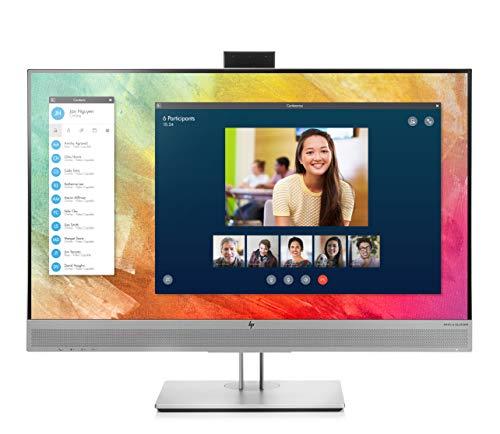 "HP EliteDisplay E273m - Monitor Profesional de 27"" FullHD (1920×1080 (2073k), IPS, 16:9, DisplayPort x1, VGA x1, HDMI x1, USB 3.0 x2, USB C x1, 60 Hz, 5ms, Anti-reflejo, Ajustable) Plateado"