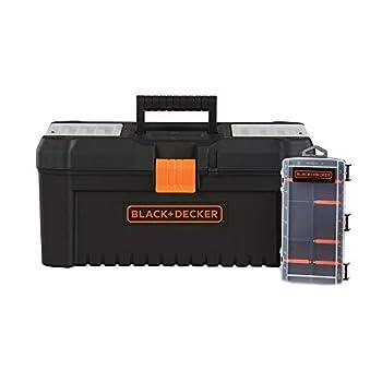 beyond by BLACK+DECKER Tool Box & Organizer 16-Inch 10-Compartment  BDST60096AEV